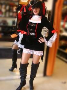 Disfraces Todo Disfraz Capitana Pirata