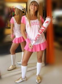 Disfraces Todo Disfraz - Jugadora de Baseball