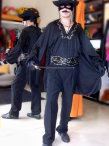 Disfraces  Todo Disfraz - Zorro 0989