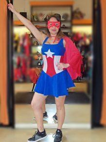 Todo Disfraz - Capitana America 1265