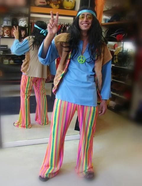 Todo Disfraz - Hippe - Años 70 - 1287