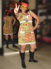 Todo Disfraz -  Hippie 1211