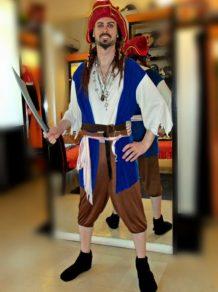 Todo Disfraz - Pirata Jack Sparrow - 2233