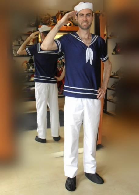 Marinero disfraces todo disfraz alquiler de disfraces - Disfraz de marinero casero ...