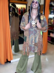 Todo Disfraz - Años 70 - Hippie 0999