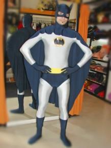 Todo Disfraz - Batman Gris Lycra