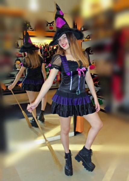 Todo Disfraz - Bruja Violeta - 1346