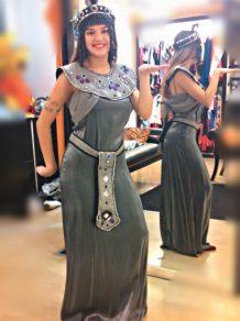Todo Disfraz - Cleopatra Plateada - 2236