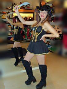 Todo Disfraz - Pirata Strapless - 2172