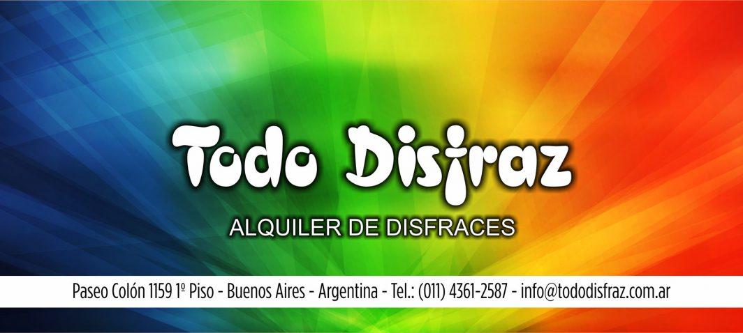 697bdab1766aa Inicio - Disfraces Todo Disfraz - Alquiler de disfraces en Capital ...