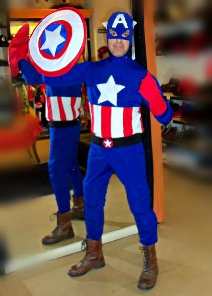 Todo Disfraz - Capitan America 2690..